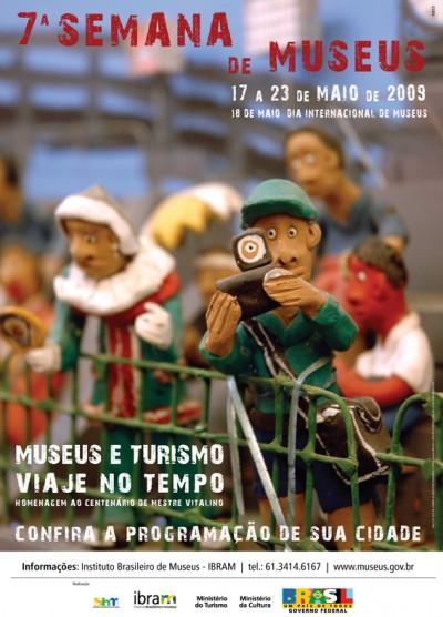 cartaz Semana de Museus 2009